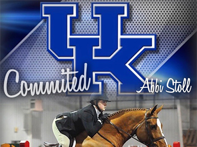 Abbi Stoll Committed to University of Kentucky equestrian team