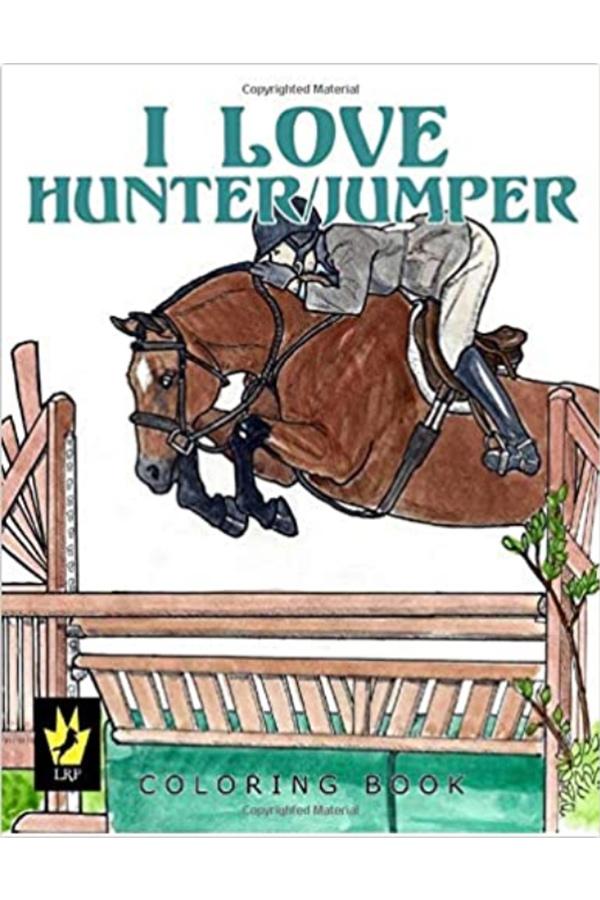 Hunter jumper coloring book